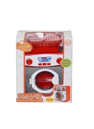 Birlik Oyuncak Birlik Oyuncak Fsn001 14,5 X 13,3 X 9 Cm Kutulu Mini Çamaşır Makinesi Renkli